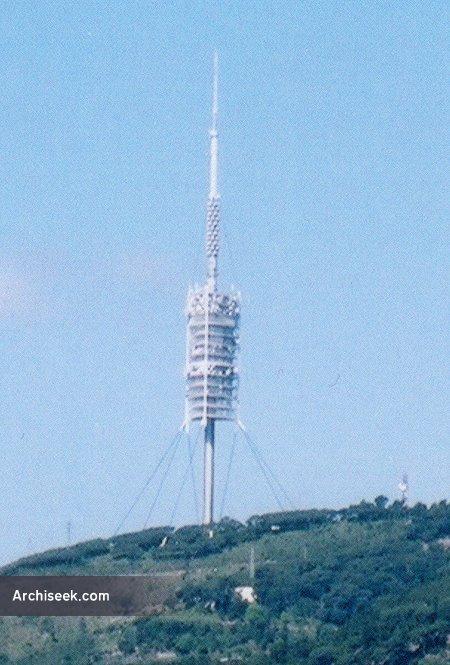1992 – Torre de Communicació de Collserola, Barcelona