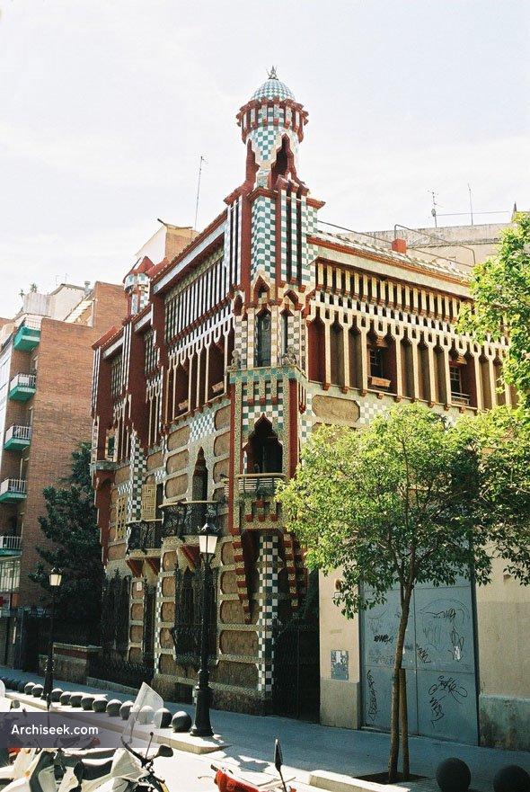 1883 – Casa Vicens, Barcelona
