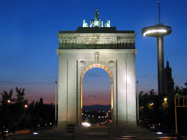 1956 – Arco de la Victoria, Madrid