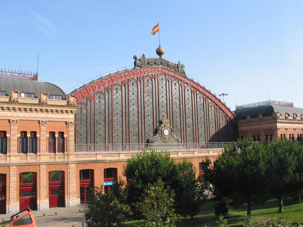 1892 – Atocha Railway Station, Madrid