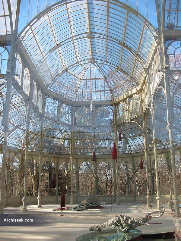 1887 – Palacio de Cristal, Parque del Buen Retiro, Madrid
