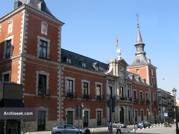 1643 – Palacio de Santa Cruz, Madrid