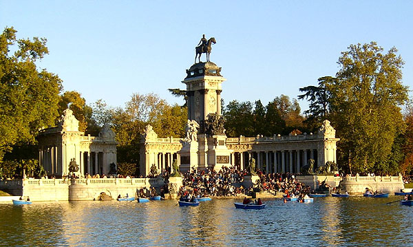1887 &#8211; Mausoleum of Alfonso XII, Parque del Buen Retiro, Madrid