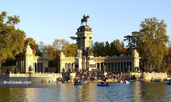 1887 – Mausoleum of Alfonso XII, Parque del Buen Retiro, Madrid