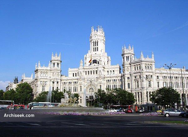 1917 – Palacio de Comunicaciones, Madrid