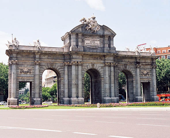 1769 &#8211; Puerta de Alcala, Madrid
