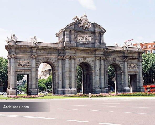1769 – Puerta de Alcala, Madrid