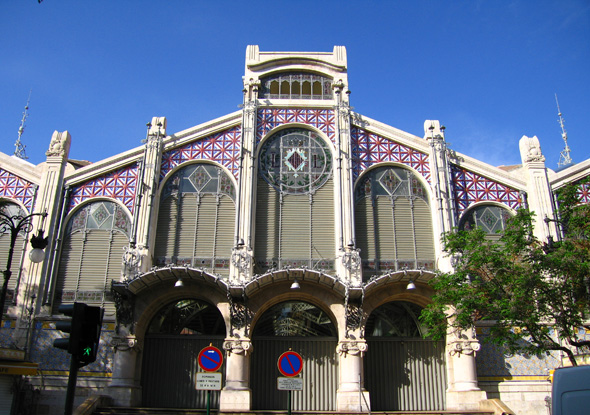 1914 &#8211; Mercado Central, Valencia, Spain