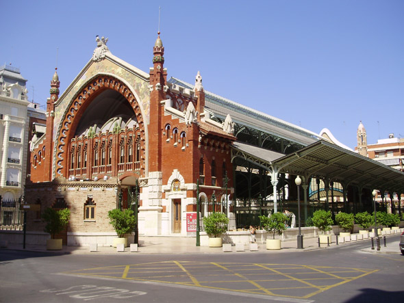 1916 &#8211; Mercado de la Colon, Valencia, Spain