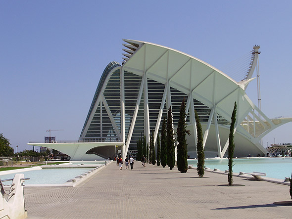 2000 – Prince Felipe Science Museum, Valencia, Spain