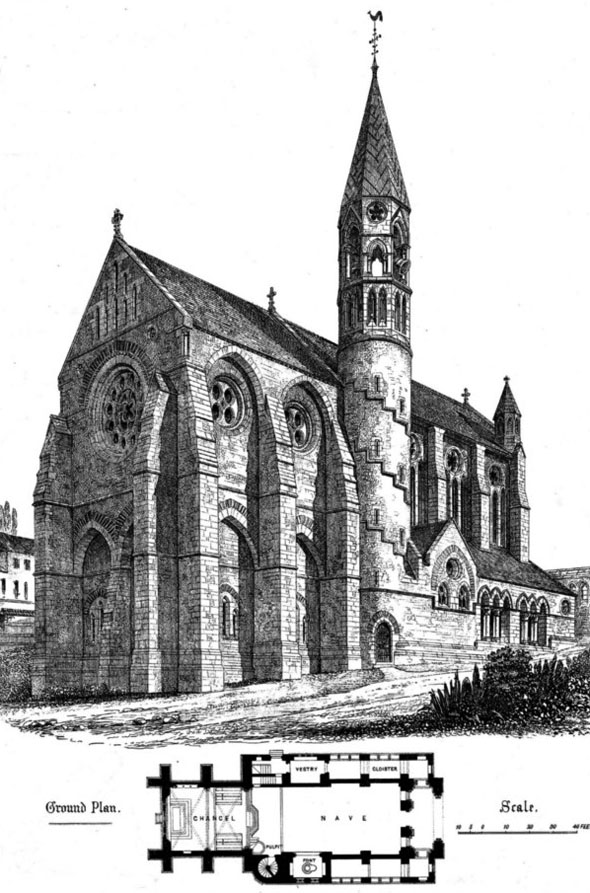 1868 – Crimea Memorial Church, Istanbul, Turkey