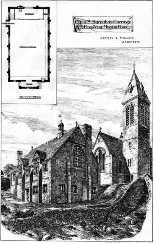 1884 &#8211; Church of St. Barnabas, Guernsey