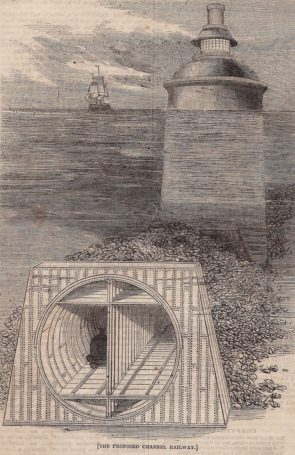 1862 – Proposal for Channel Tunnel