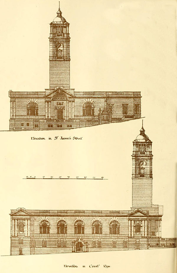 1899 – Design for States Assembly Hall, Guernsey