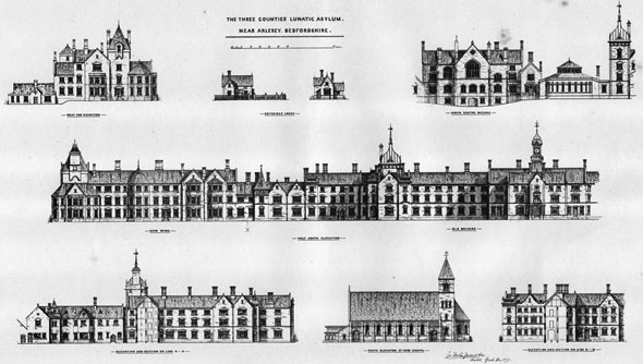 1879 &#8211; Lunatic Asylum, Arlesley, Bedfordshire