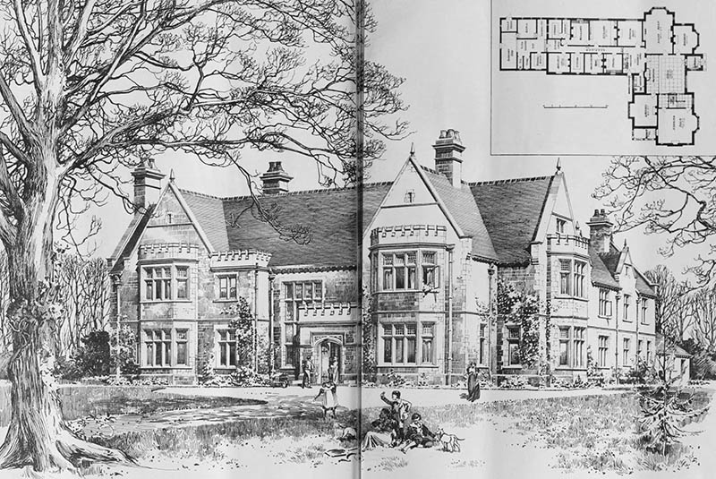 1898 – Country House, Bedfordshire