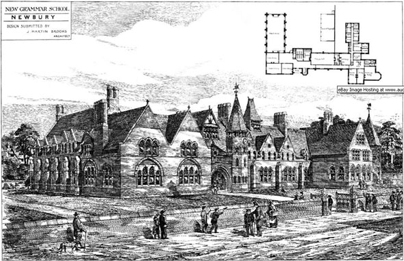 1881 – New Grammar School, Newbury, Berkshire