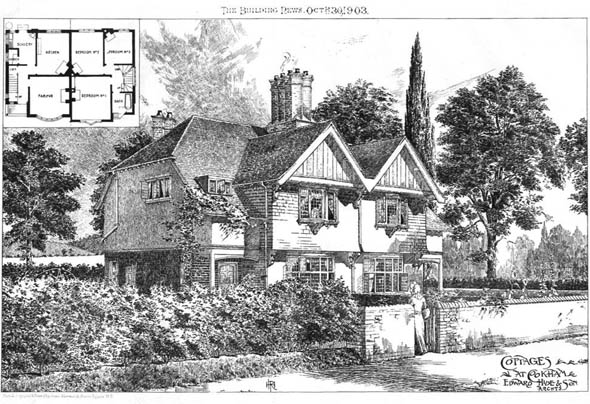 1903 – Cottages at Cookham, Berkshire
