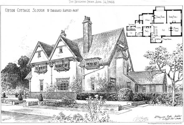 1903 – Upton Cottage, Slough, Berkshire