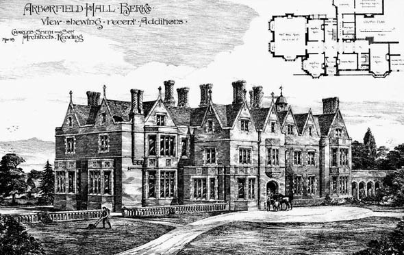 1885 – Arbourfield Hall, Berkshire