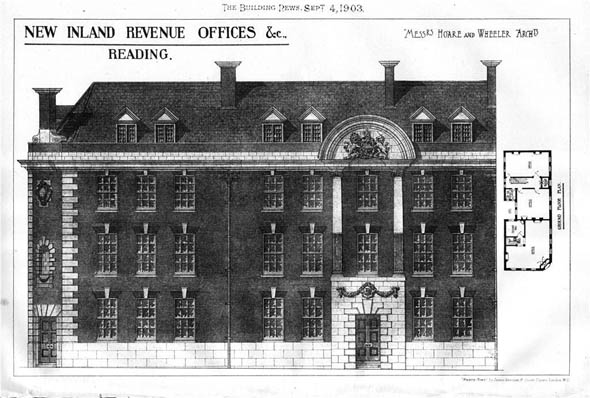 1903 &#8211; Inland Revenue Offices, Reading, Berkshire