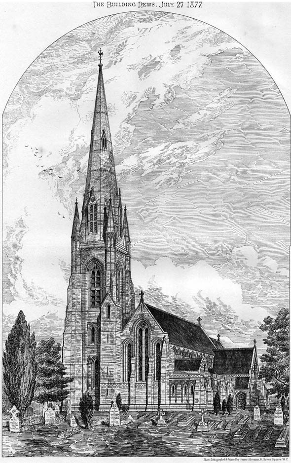 1877 &#8211; Slough Parish Church, Berkshire