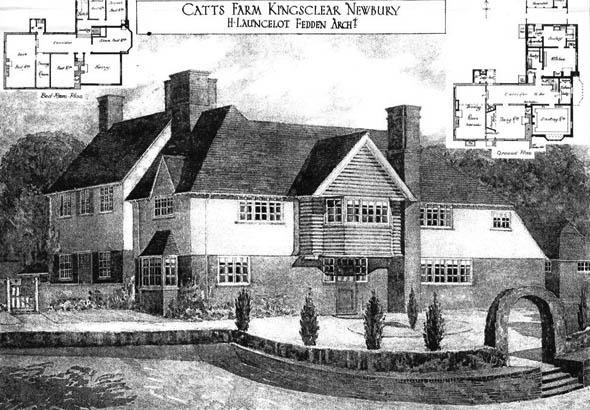 1908 &#8211; Catts Farm, Newbury, Berkshire