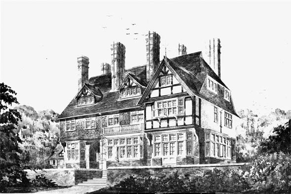 1885 &#8211; Proposed House, Wargrave on Thames, Berkshire