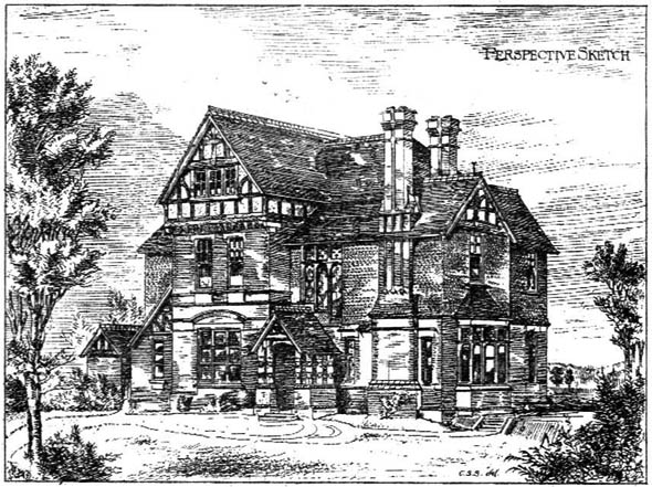 1885 – House on Farley Estate, Nr. Reading, Berkshire