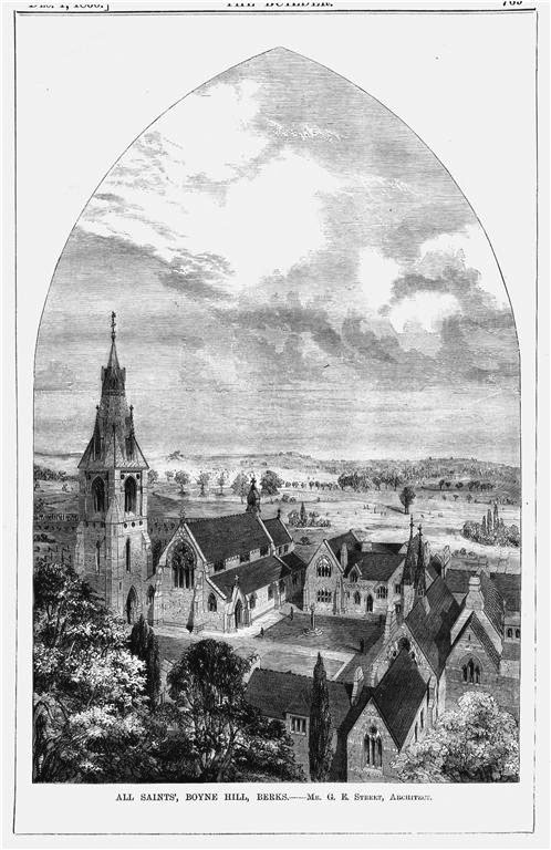 1860 &#8211; All Saints, Boyne Hill, Maidenhead, Berkshire
