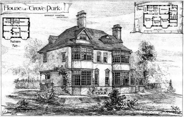 1879 &#8211; House at Wokingham, Berkshire