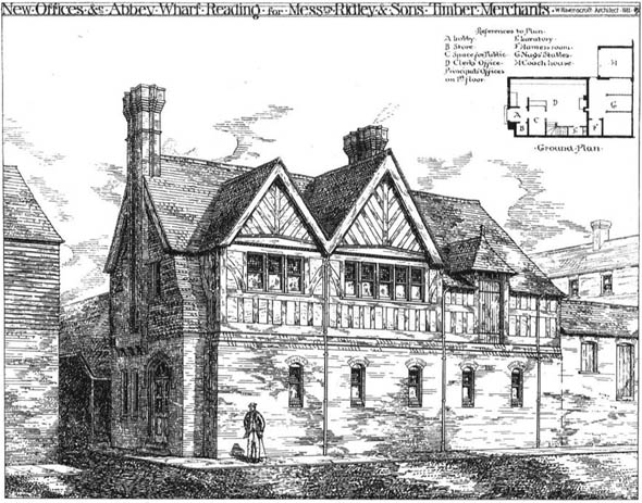 1881 – New Offices, Abbey Wharf, Reading, Berkshire