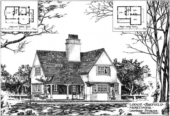 1904 – Lodge at Oakfield Mortimer, Berkshire