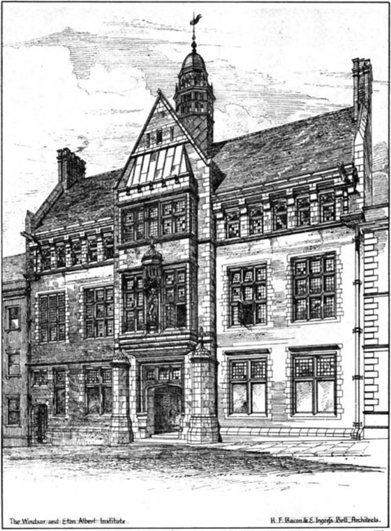 1879 &#8211; The Windsor &#038; Eaton Albert Institute, Windsor, Berkshire