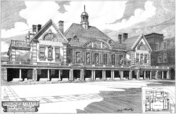 1906 – New Dining Hall, Wellington College, Berkshire
