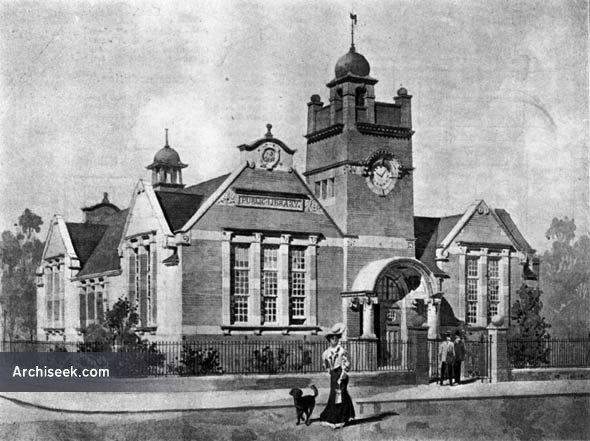 1906 – Caversham Free Public Library, Berkshire