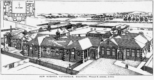 1906 &#8211; New Schools, Caversham, Berkshire