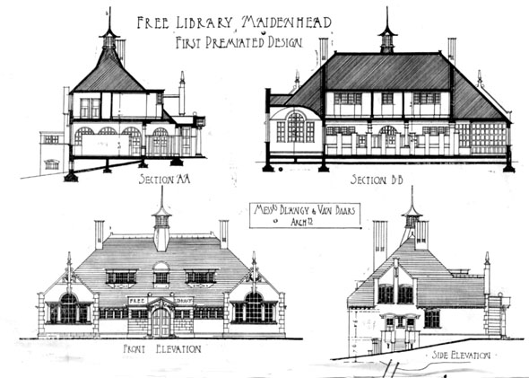 1903 – Free Library, Maidenhead, Berkshire