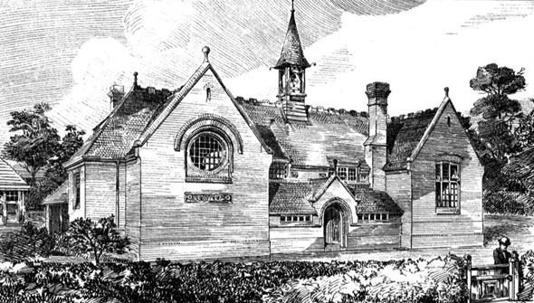 1880 – School, Wallingford, Berkshire
