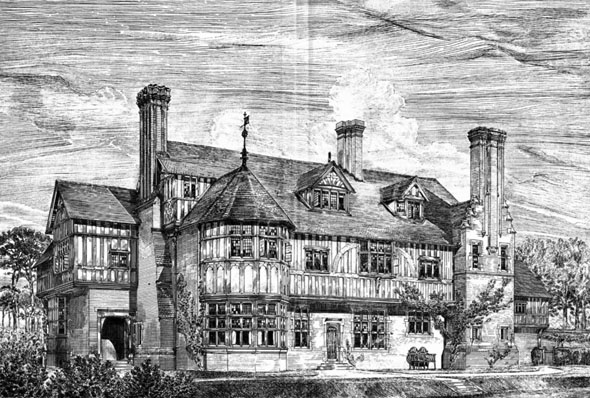 1880 &#8211; House at Sunninghill, Berkshire