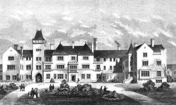 1870 – Berkshire, Reading and Newbury Lunatic Asylum
