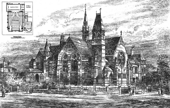 1884 – St. Andrews Presbyterian Church, Reading, Berkshire