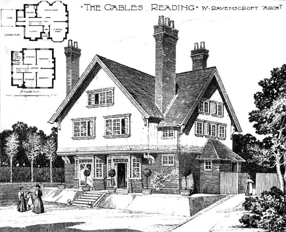 1899 &#8211; The Gables, Reading, Berkshire