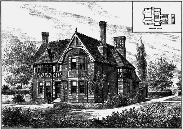 1880 –  New Stewards Residence, Nalder Hill, Newbury, Berkshire
