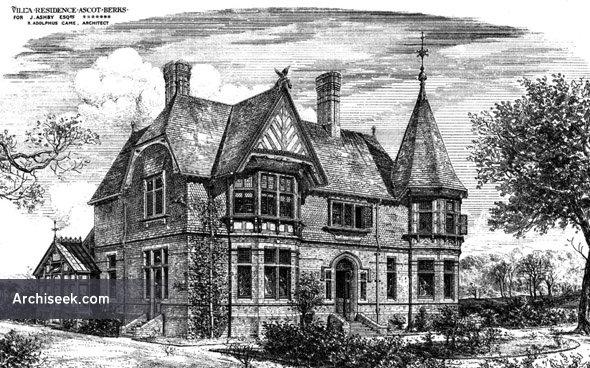 1879 – Villa Residence, Ascot, Berkshire