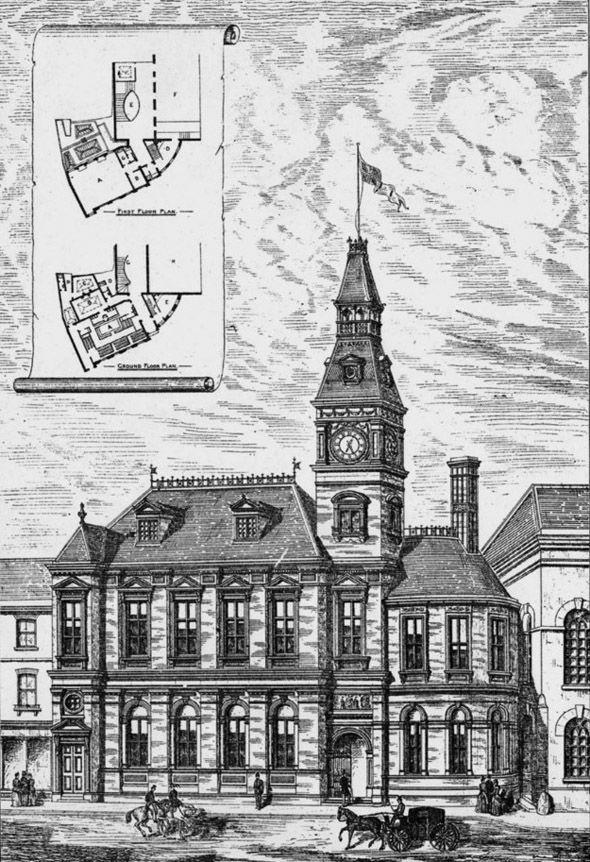 1887 – Newbury Municipal Buildings, Berkshire