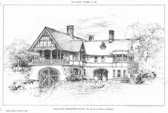 1891 – BoatHouse, Maidenhead Court, Buckinghamshire