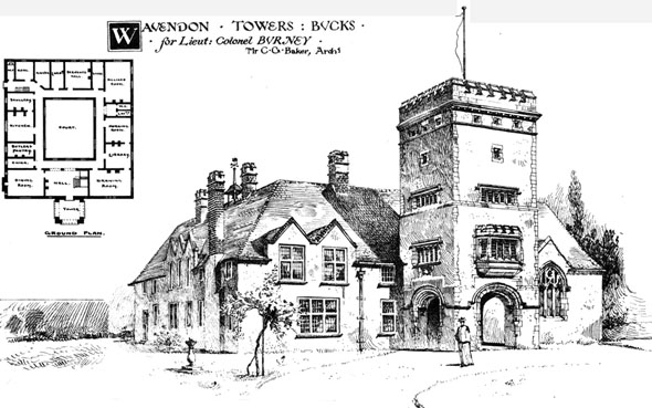 1891 – Wavendon Towers, Buckinghamshire
