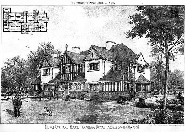 1905 &#8211; The Old Orchard House, Farnham Royal, Buckinghamshire