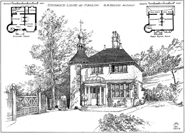 1904 &#8211; Entrance Lodge, Marlow, Buckinghamshire